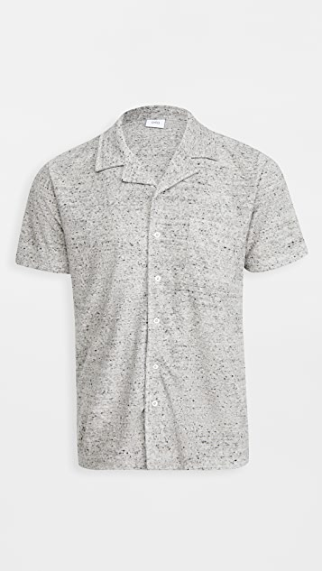 Onia Button Up Towel Terry Shirt