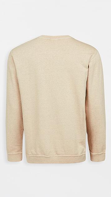 Onia Crew Neck French Terry Sweatshirt