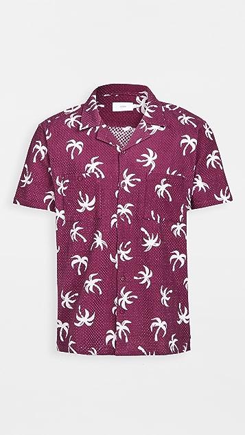 Onia Woven Button Up Shirt