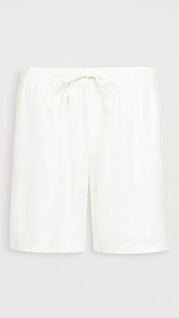Onia Stretch Linen Pull On Shorts