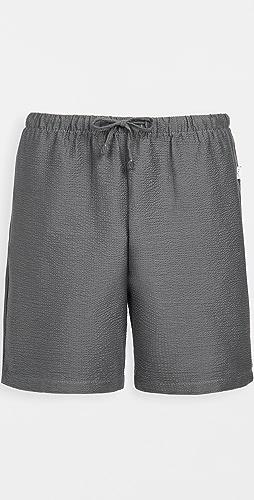Onia - Pull On Seersucker Shorts