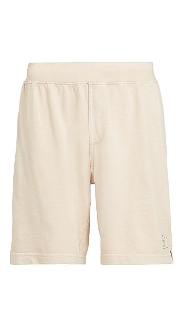 Onia Garment Dye Pull On Shorts