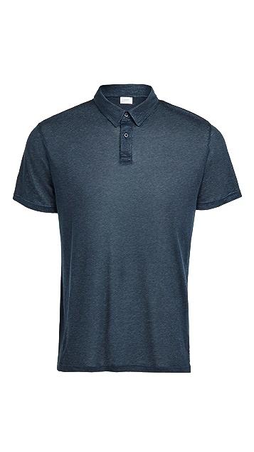 Onia Linen Polo Shirt