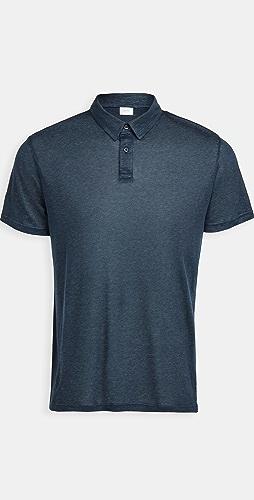 Onia - Linen Polo Shirt