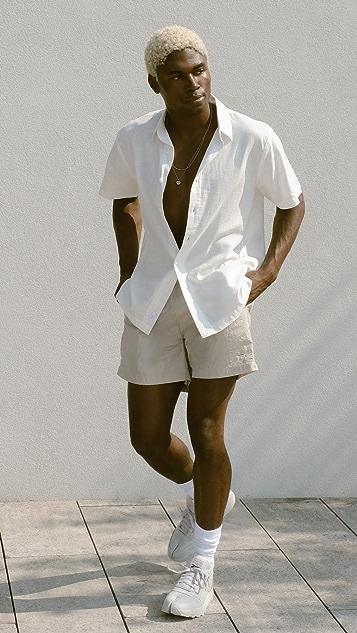 Onia Stretch Linen Shirt