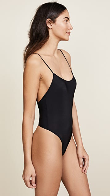 Only Hearts Second Skins Thong Bodysuit