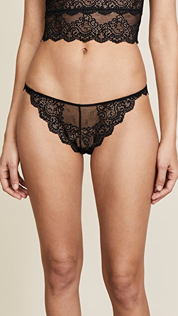 Only Hearts So Fine Lace Thong