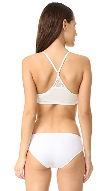 Only Hearts So Fine Triangle Racer Back Bralette