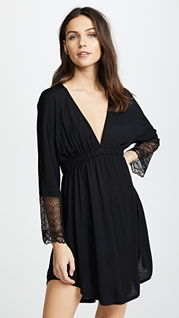Only Hearts Venice Shirttail Night Dress