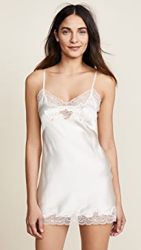 Silk Charmeuse Mini Slip