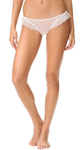 Only Hearts Coucou Lola Ruffle Thong