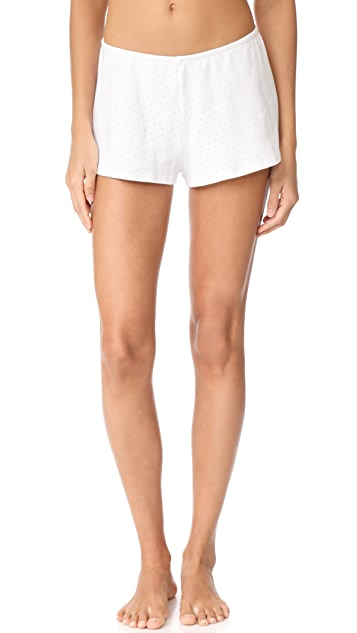 Only Hearts Pointelle Sleep Shorts