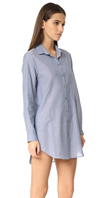 Only Hearts Chambray Boyfriend Shirt