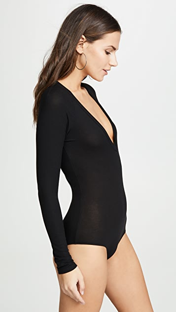 Only Hearts V Neck Bodysuit