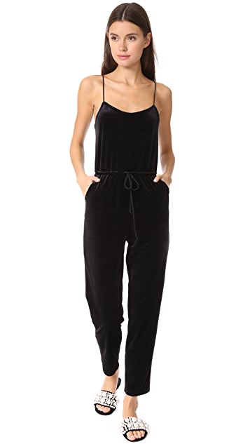Only Hearts Velour Jumpsuit