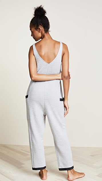 Only Hearts French Terry Tank Jumpsuit