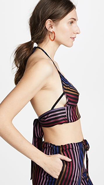 Only Hearts Riley Halter Bralette