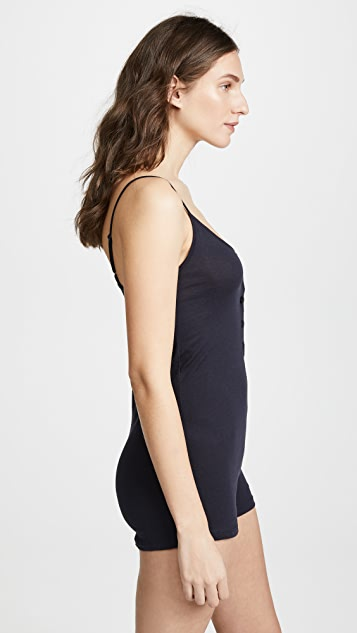 Only Hearts Simply Organic Cotton Henley Romper