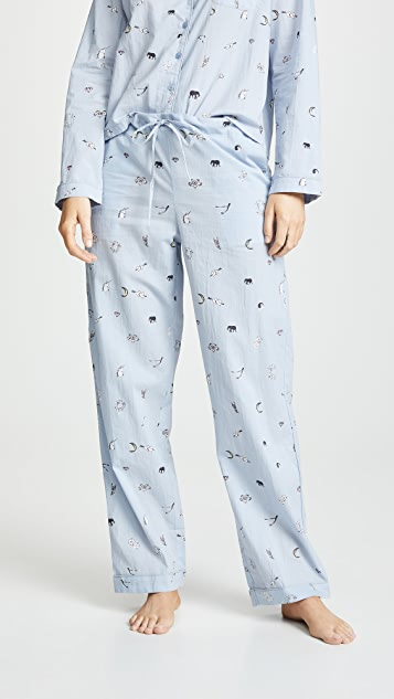 Only Hearts Sleep To Dream Long PJ Set