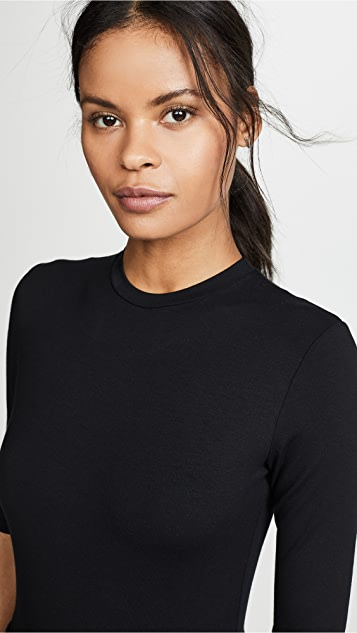 Only Hearts Basic Crew Thong Bodysuit