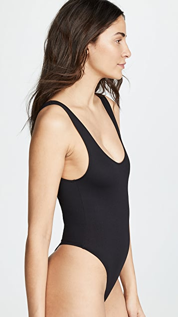 Only Hearts Tank Thong Bodysuit