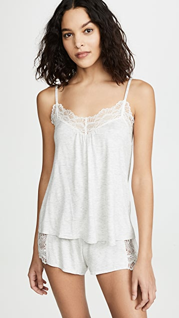 Only Hearts Low Back Cami - Heather