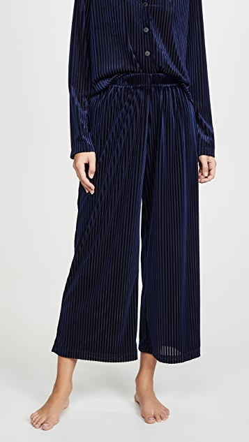 Only Hearts Velvet Rib Pants