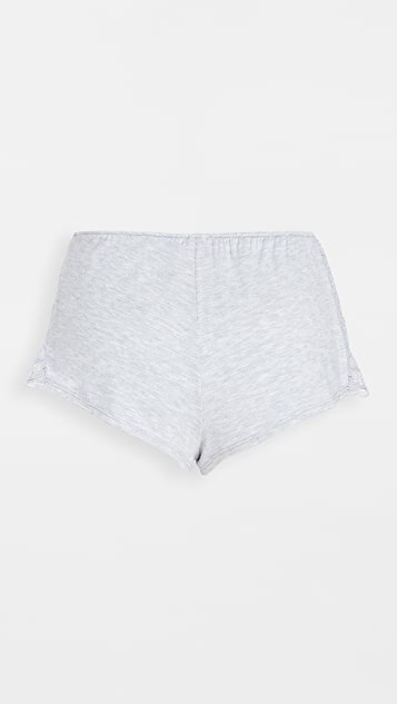 Only Hearts Venice Hipster Sleep Shorts with Lace Insets