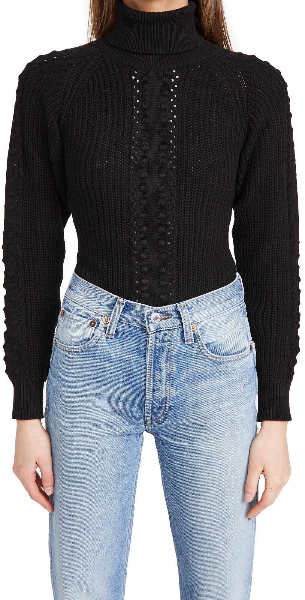 Only Hearts Three Times A Lady Turtleneck Bodysuit