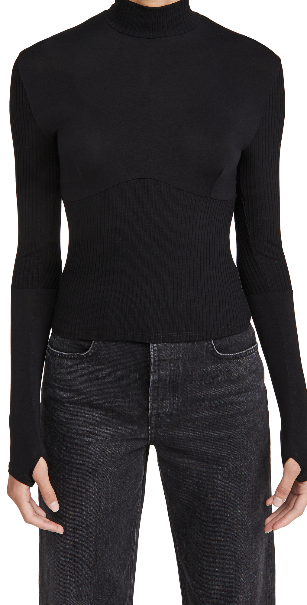 Only Hearts Eco Rib Corset Top