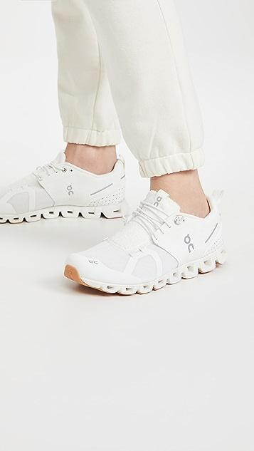 On 云朵毛圈布运动鞋