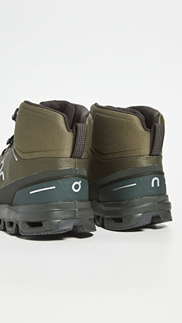 On Cloudrock Waterproof Boots