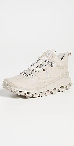 On - Cloud Hi 黑白色运动鞋