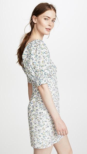 Valencia & Vine Kate Ditsy Floral Babydoll Dress