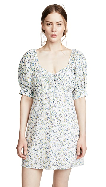 Valencia & Vine Kate Ditsy Floral Babydoll Dress