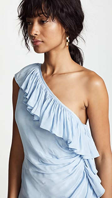 Valencia & Vine Gabriela One Shoulder Gown