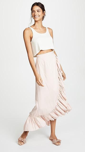 Valencia & Vine Jamie Wrap Skirt