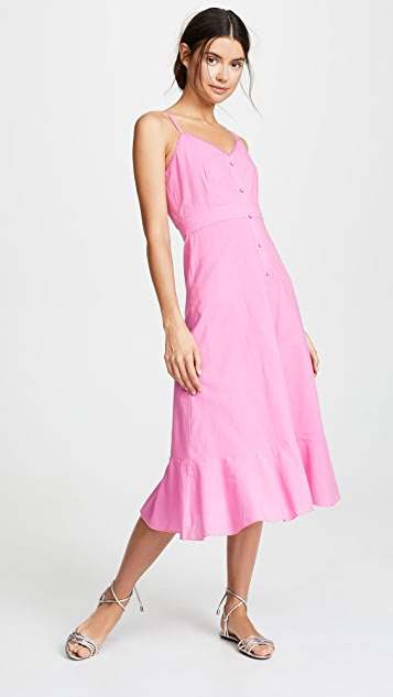 Valencia & Vine Button Front Dress
