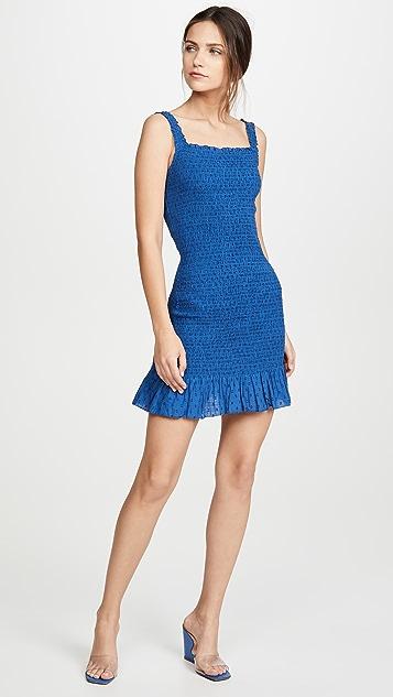Valencia & Vine Ruched Mini Dress