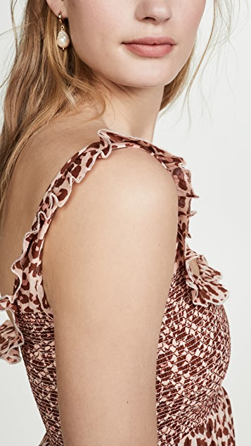 Valencia & Vine Lucy Leopard Dress