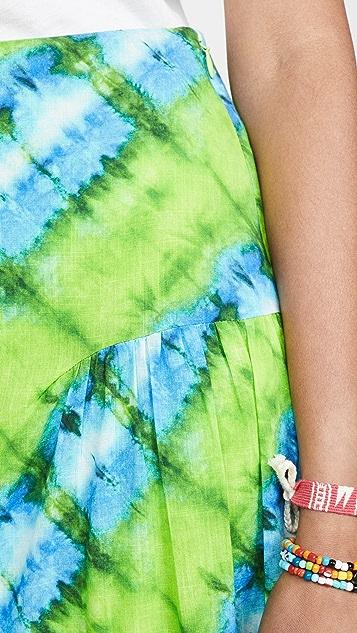 Valencia & Vine 扎染半身裙