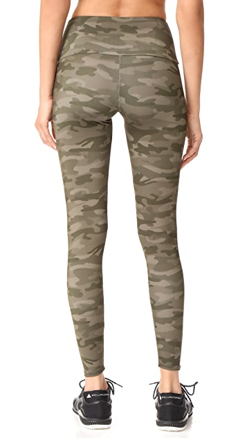 Onzie Moss Camo High Rise Leggings
