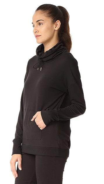Onzie Tulip Back Cowl Neck Sweatshirt