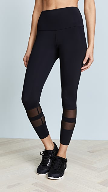 Onzie Racer Midi Leggings - Black