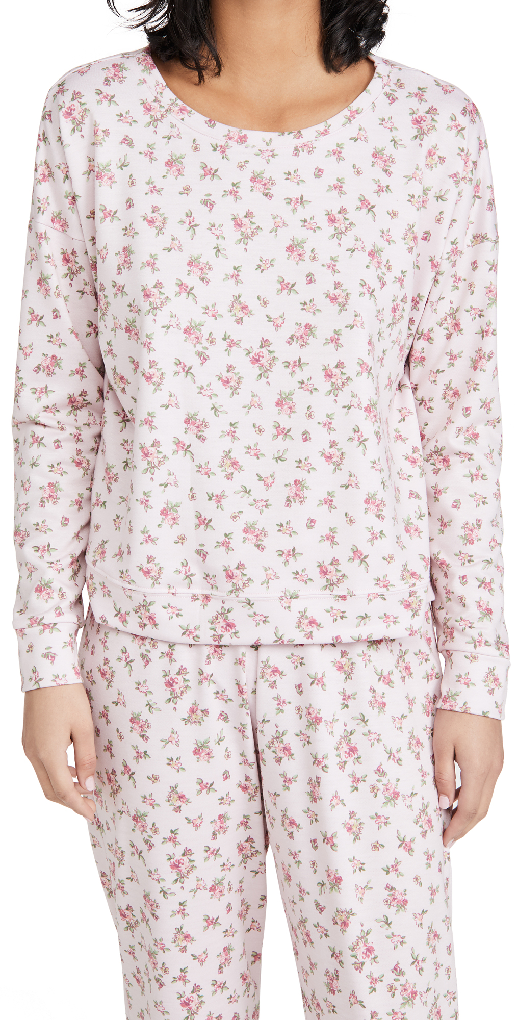 Onzie High Low Floral Sweatshirt