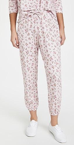 Onzie - 法式毛圈花卉运动裤