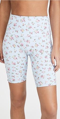 Onzie - 高腰花卉单车短裤