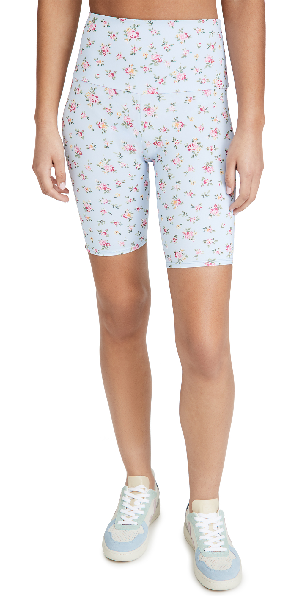 Onzie High Rise Floral Bike Shorts
