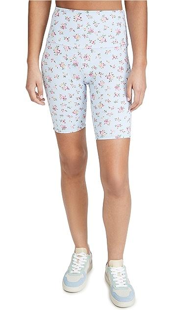 Onzie High Rise Floral Bike Shorts