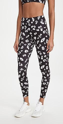 Onzie - 高腰基本款中长贴腿裤